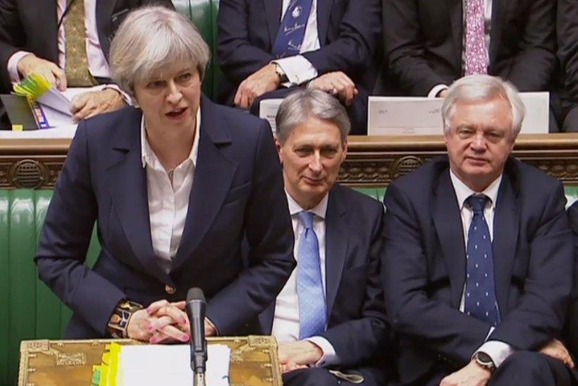 VIDEO | Theresa May pidas Euroopa Liidust väljaastumise puhul kõne
