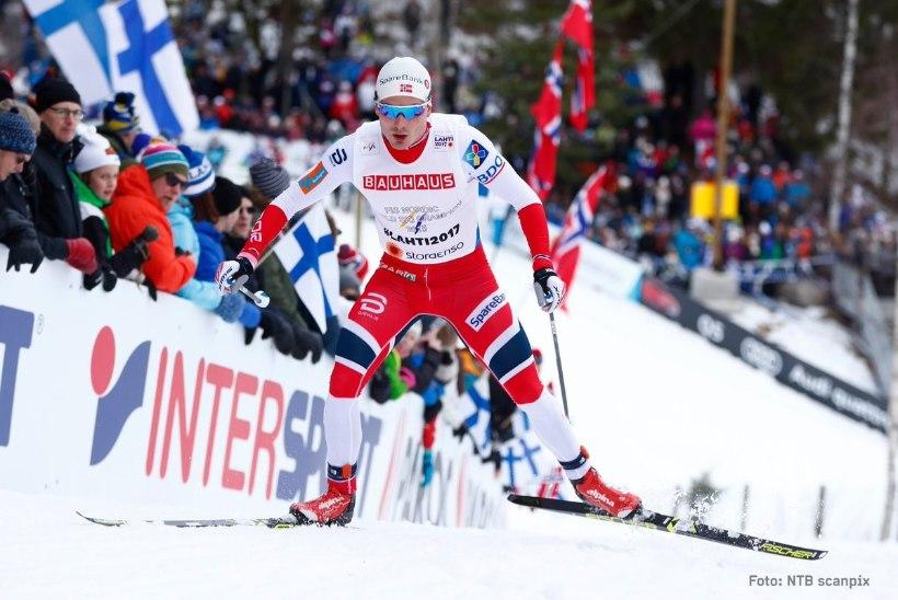 VÄGEV DUELL! Ustjogov ei suutnud Lahti MMi teatesõidus Norrat alistada, eestlased said ringiga sisse ja Rehemaa proovida ei saanudki