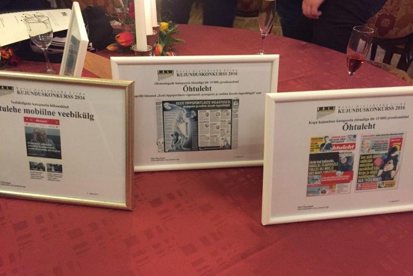 Ekspress Meedia ajakirjanikud said ajakirjandusauhindade jagamisel seitse esikohta, Õhtuleht pälvis auhinnad küljenduse kategooriates