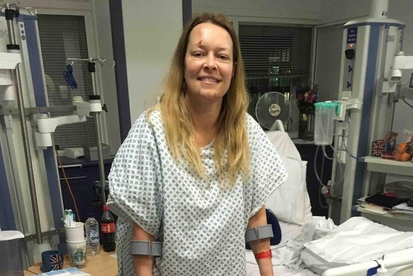 ESIMENE FOTO PÄRAST TRAGÖÖDIAT: Londoni terrorirünnakus abikaasa kaotanud Melissa Cochran kosub pere keskel