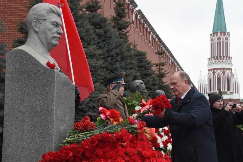 Kommunistid mälestasid Moskvas Stalinit
