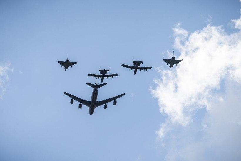 Tuleval nädalal saab Eesti kohal näha Saksa hävituslennukeid