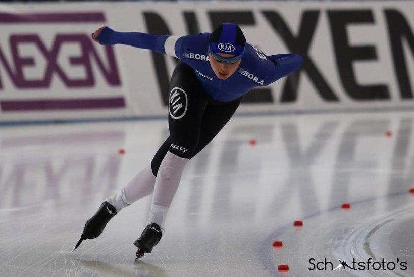 Saskia Alusalu lõpetas hooaja ajalooliste MM-startidega