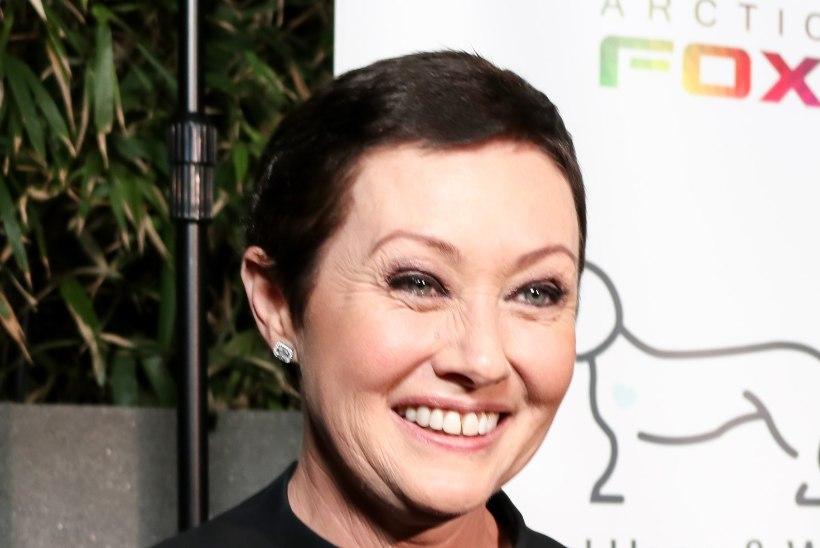Vähiravi lõpetanud Shannen Doherty säras heategevusgalal