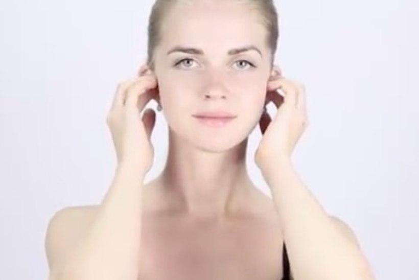 VIDEO! Kuidas teha lõõgastavat näomassaaži