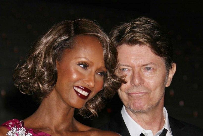 Bowie lesk Iman avaldas haruldase foto nende tütrest