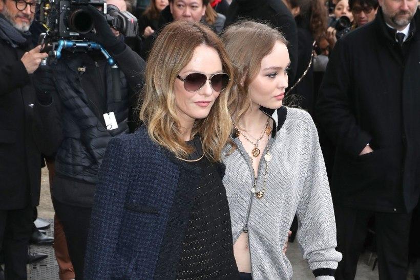 Kumb on ema, kumb tütar? Vanessa Paradis ja Lily-Rose tekitasid moenädalal furoori