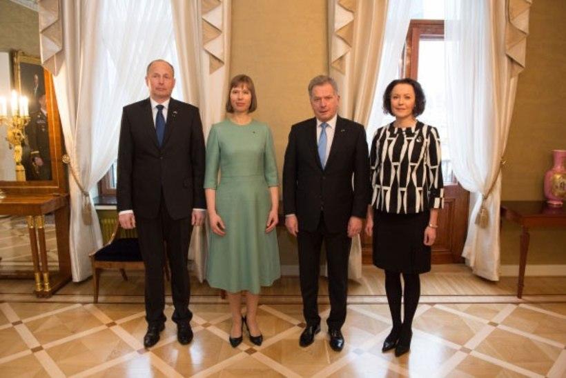 FOTOD | President Kaljulaid on koos suure delegatsiooniga riigivisiidil Soomes