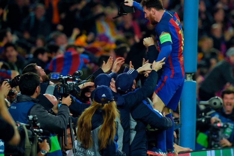 USKUMATU! VAPUSTAV! Barcelona tegi PSG vastu midagi imelist