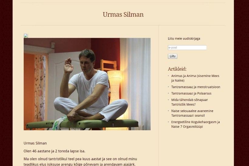 Väike ekstra: tantraguru pakub massaaži juurde oma peenist?