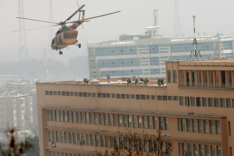 Kabuli haiglarünnakus hukkus üle 30 inimese