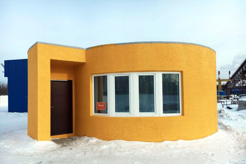 Firma printis vähem kui ööpäevaga vaid 10 000-eurose elumaja