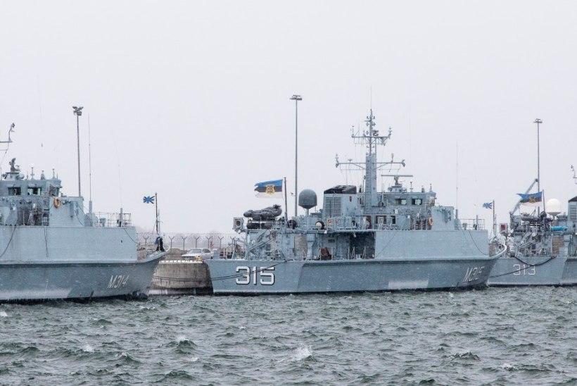Mereriigi Eesti sõjasadam on keset pealinna