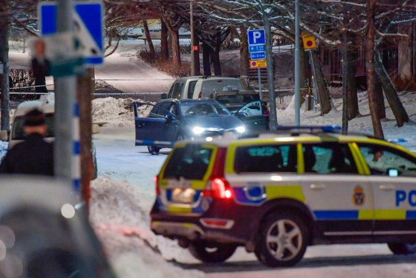 Tulistamine Stockholmis: tapeti kaks meest
