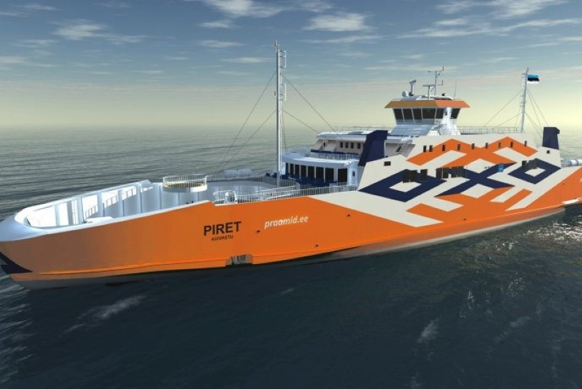 Parvlaev Piret alustas koduteed Eestisse