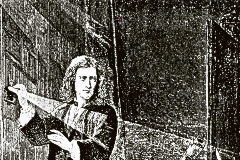 Newton kirjeldas nelja seadusega ära kogu silmanähtava maailma