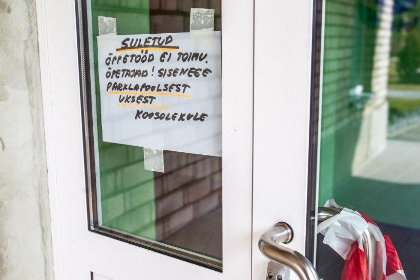 Viirusepuhanguga võidelnud Lihula koolis tuleb lastel nüüd oma toit kodust kaasa võtta