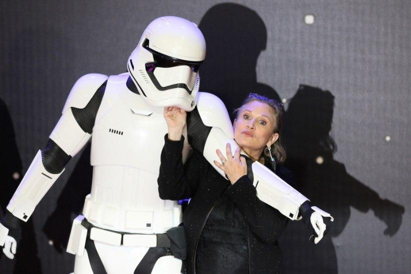 """Kadunud Carrie Fisherit saab näha ka viimases """"Tähesõdade"""" filmis"""