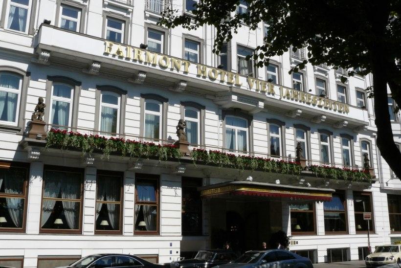 Trump ei leia Hamburgis hotelli