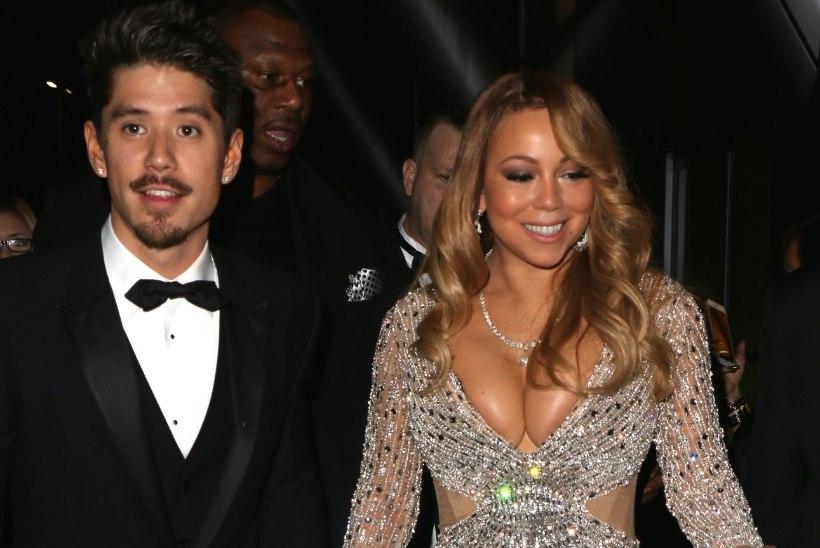 Mariah Carey näitas oma noorele kallimale ust