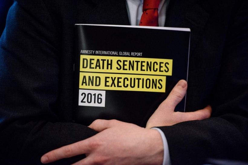 Läinud aastal hukati surmanuhtluse läbi 1032 inimest