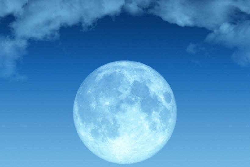 ROOSA KUU: Selge ilma korral võib täna õhtul taevas näha kaunist täiskuud