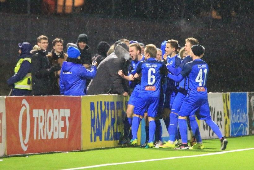 VALUS KAOTUS! Jalgpalli karikavõistluste esimene poolfinalist selgus 120. minuti väravast