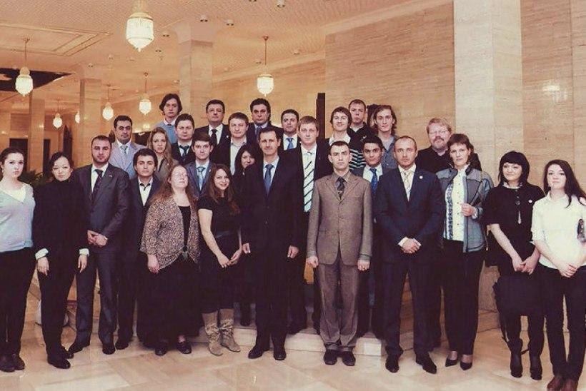 PILTUUDIS | Lisaks Toomile on Süürias käinud ka pronksiöö korraldaja ja Bäckman