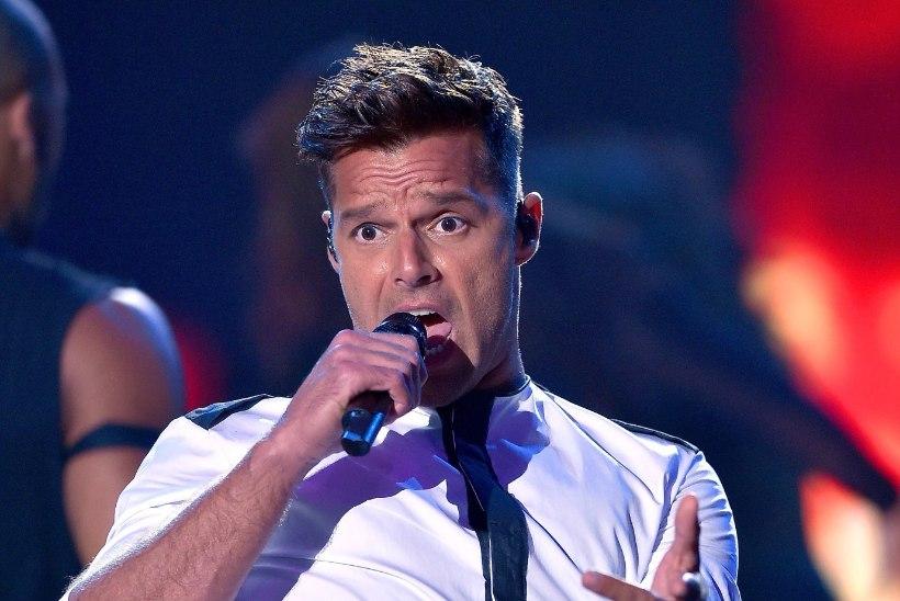 Ricky Martin mängib telesarjas moekeiser Versace elukaaslast