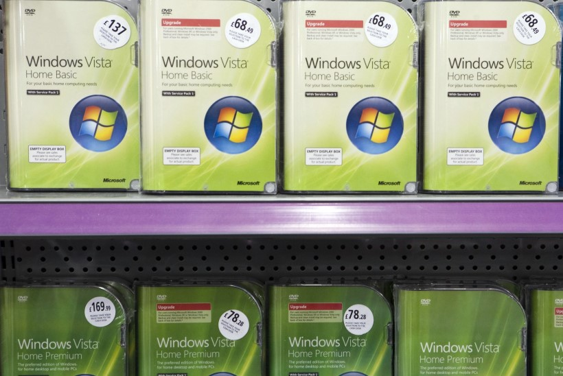 Microsoft ütles Windows Vistale hüvasti