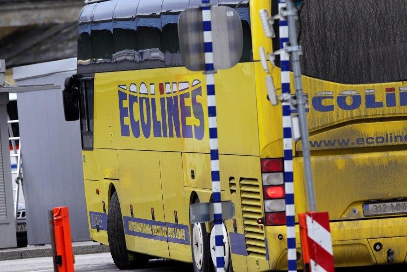 Purjuspäi sõitnud Ecolinesi bussijuht sai trahvi