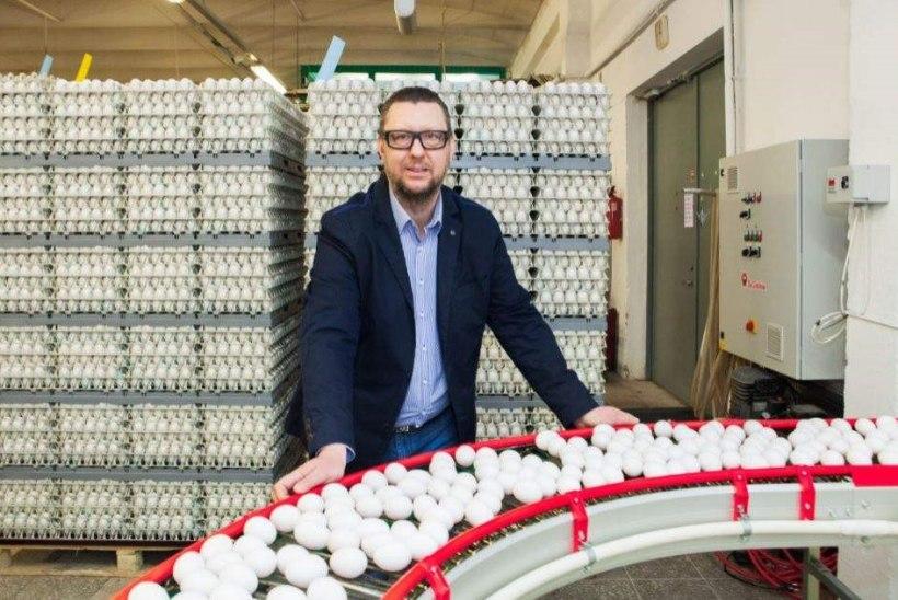 Tallinnas vereloovutajad saavad täna ja homme kingiks karbi mune