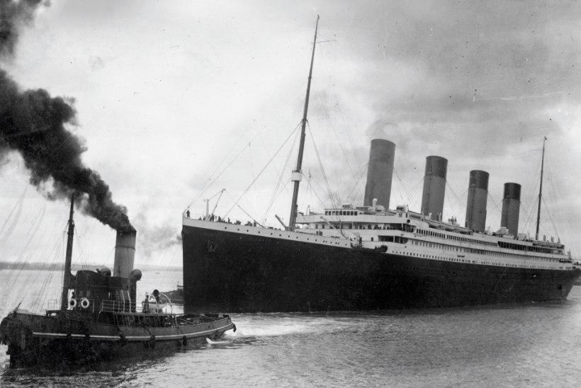 Hiinasse ehitatav lõbustuspark kutsub üle elama Titanicu hukku