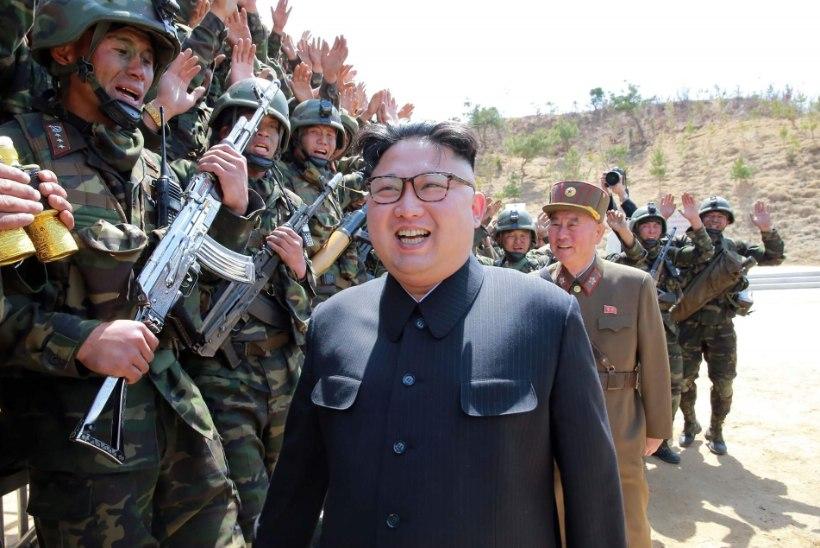 Telekanal NBC: USA on valmis ennetavaks rünnakuks Põhja-Korea vastu
