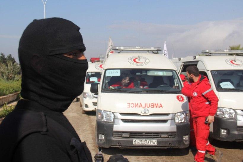 Süürias algas suurevakuatsioon