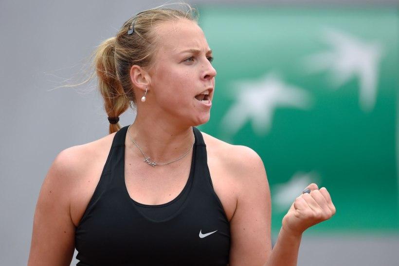 FANTASTILINE! Anett Kontaveit jõudis karjääris esimest korda WTA turniiri finaali!