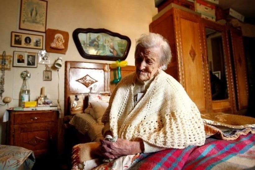 Itaalias suri maailma vanim inimene
