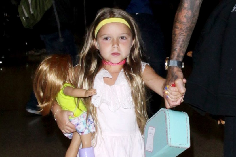 Victoria Beckham registreeris pisitütre nime kaubamärgina