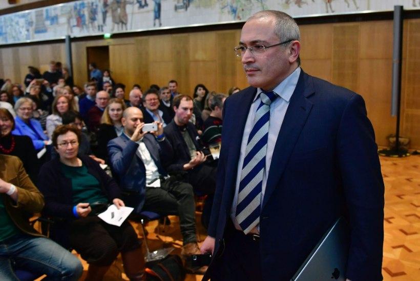 Hodorkovski: Putinist on kõrini!