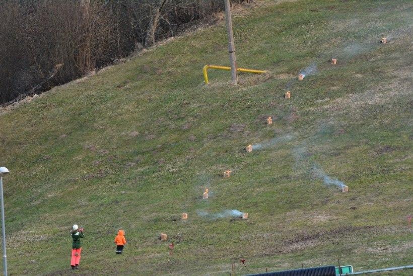 GALERII | EV100 avasündmus Viljandis: Romantiline lõkkeõhtu ja südametulede süütamine