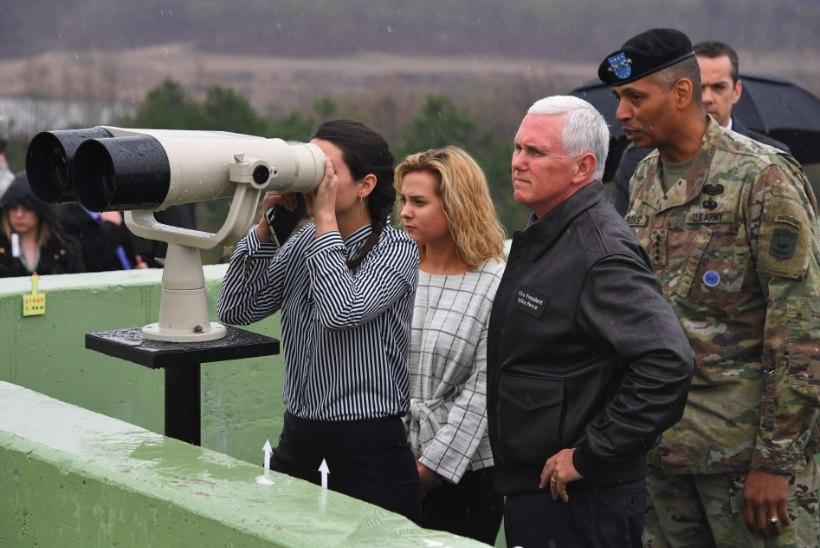 USA asepresident: strateegilise kannatlikkuse ajastu Põhja-Korea suhtes on lõppenud