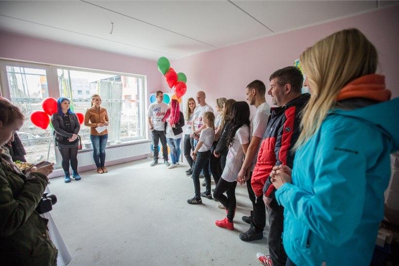"""GALERII   Saade """"Naabrist parem"""" näitas avatud uste päeval uusi osalejaid ja kortereid"""