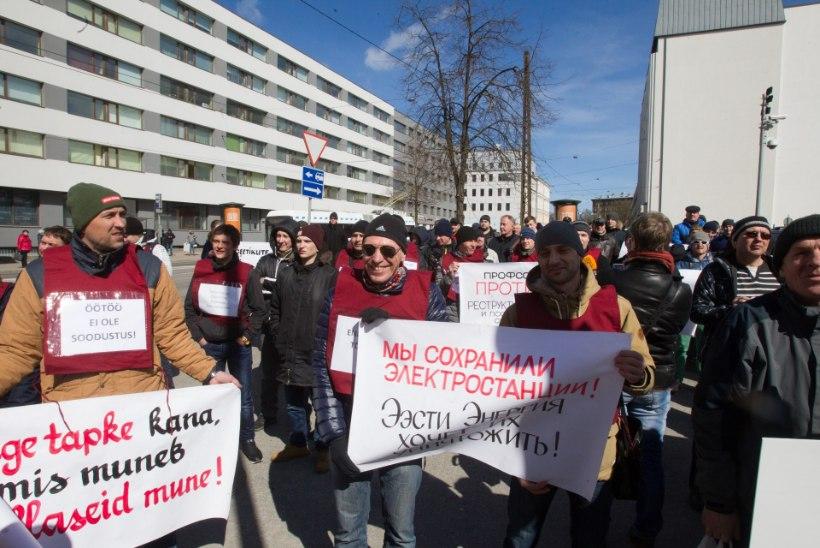Pahased energiatöölised tahavad osa saada Eesti Energia hiigelkasumist