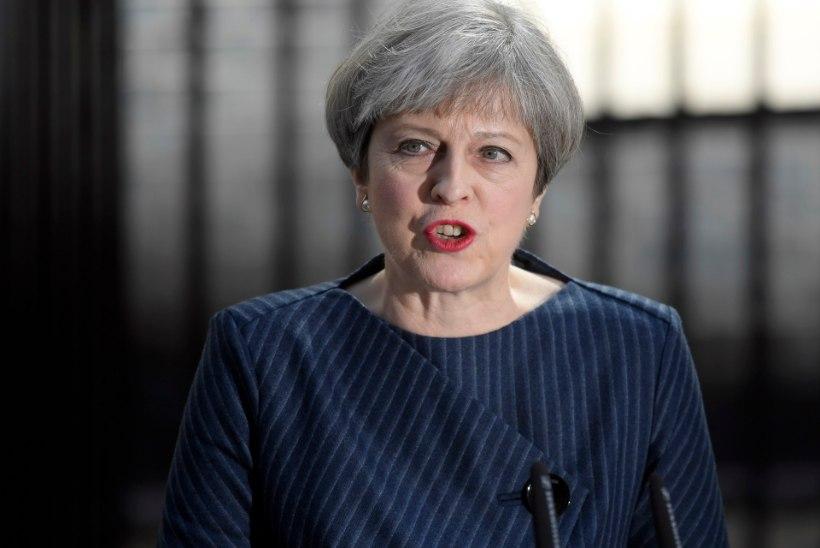 VIDEO   May: Suurbritannias tulevad erakorralised üldvalimised