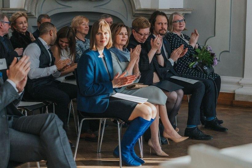 FOTOD | President Kersti Kaljulaid külastas Eesti Pillifondi tänukontserdi
