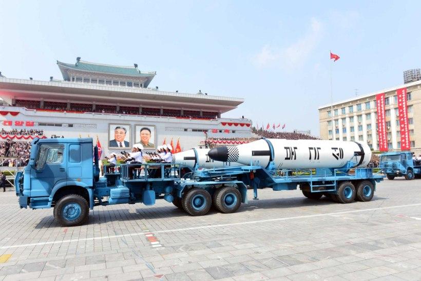 Hiina on Põhja-Korea ähvarduste pärast mures