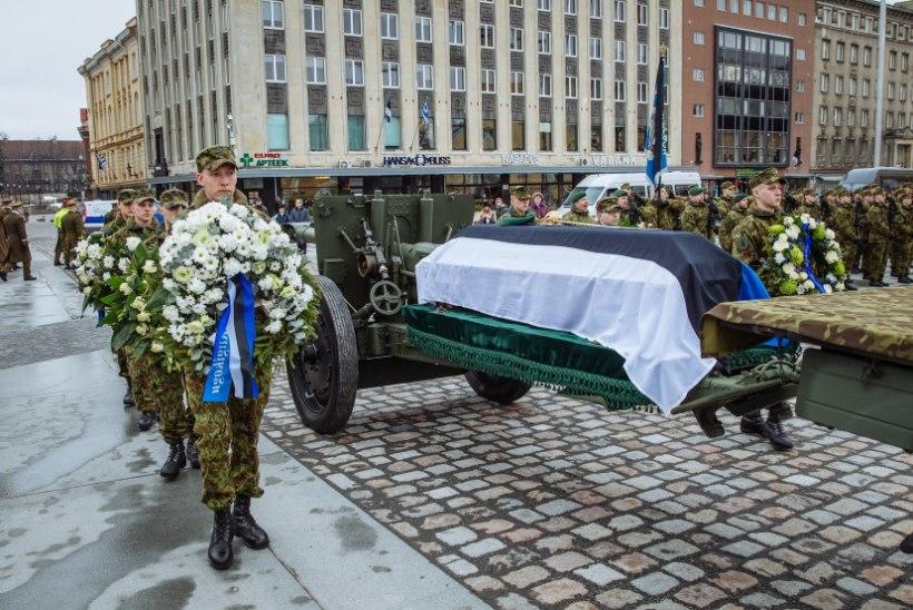 Kindral Aleksander Einseln saadeti viimsele teele