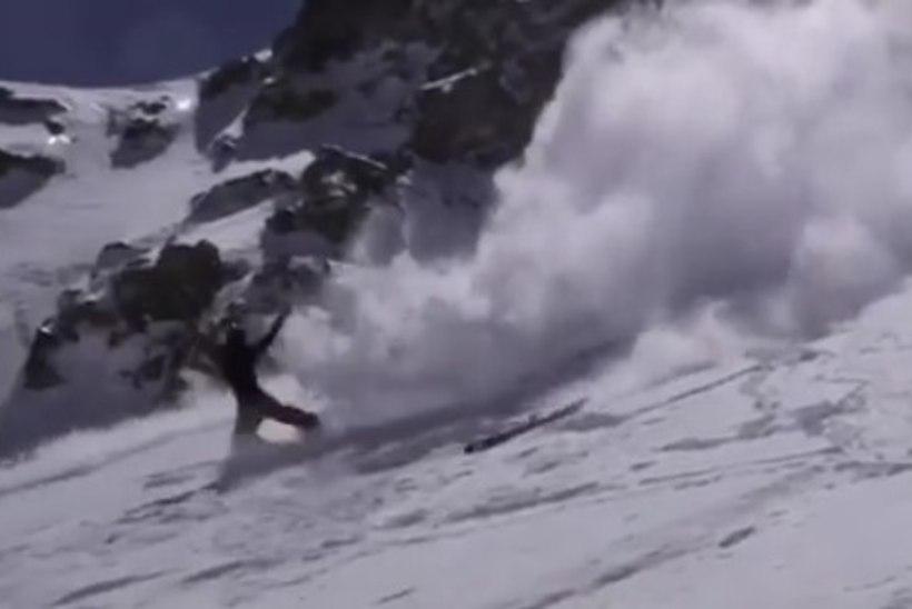 VIDEO | 16aastane mäesuusataja kukkus eriti rängalt