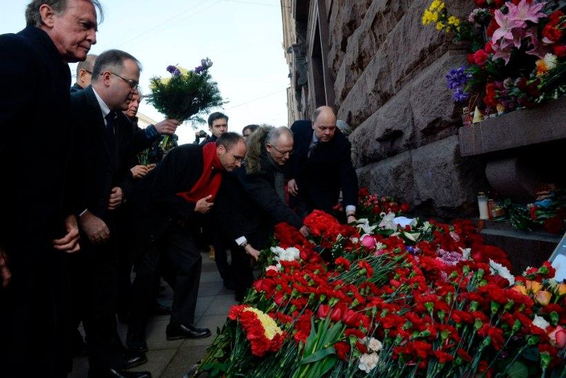Peterburi metrooplahvatuse ohvrite arv kasvas 16ni