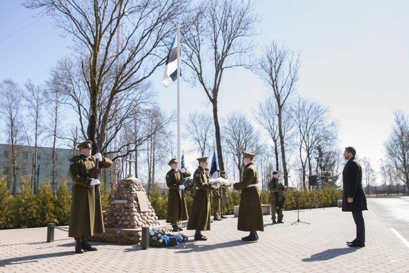 FOTOD JA VIDEO | Paldiskis mälestati langenud kaitseväelasi